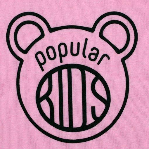 Kids ružové - Popular / detské tričko