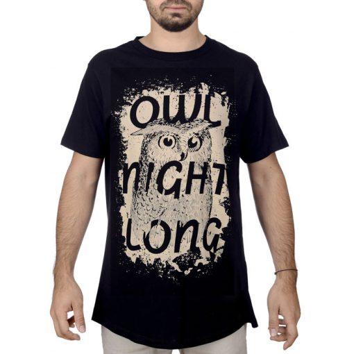 Owl Night Long - Popular / Unisex tričko
