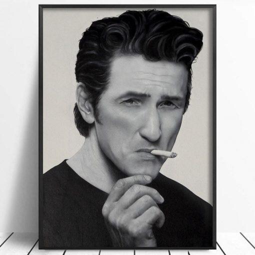 Sean Penn - Abstraktné Stavy / grafika