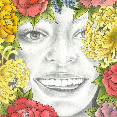 Happiness - Katarína Branišová / grafika