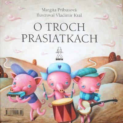 Ako šlo vajce na vandrovku / Tri prasiatka - M. Rázusová-Martáková, M. Príbusová / kniha