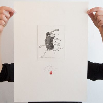 Drevo sekera - Jozef Gľaba / grafika