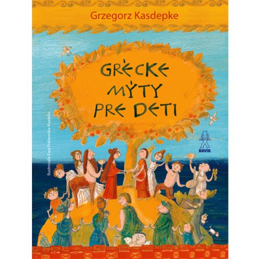 Grécke mýty pre deti - G. Kasdepke / kniha