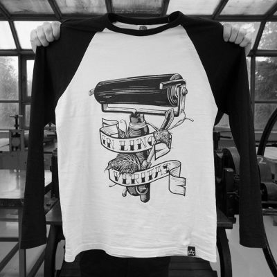 In lino veritas - Artcrime / tričko s dlhým rukávom