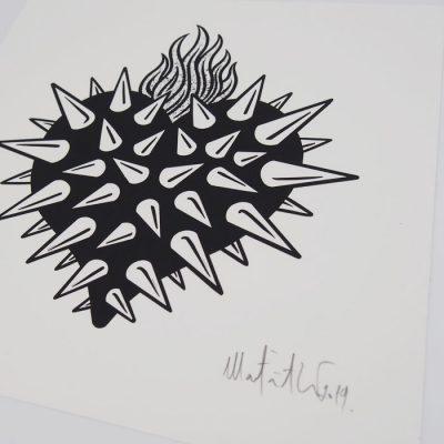 Srdce - Matúš Maťátko / grafika