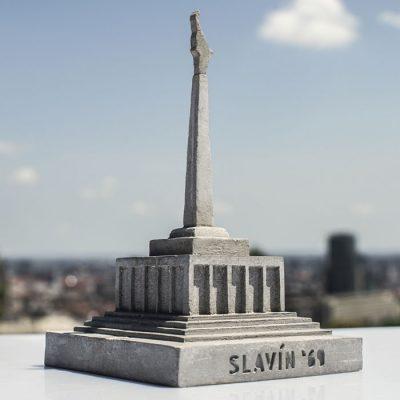 Slavín - Betonexport / socha