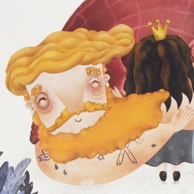 Objatie - Hedviga Gutierrez / A3 grafika