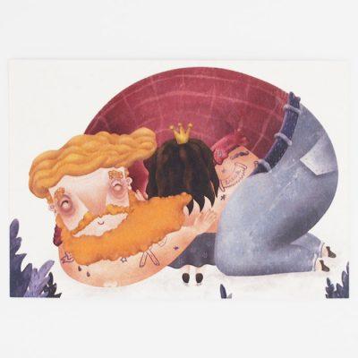 Objatie - Hedviga Gutierrez / pohľadnica
