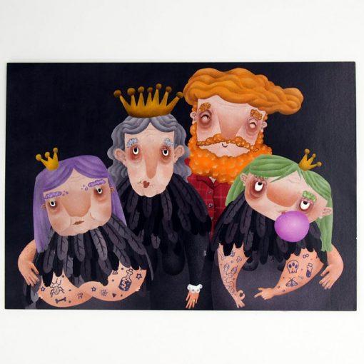 Rodinka - Hedviga Gutierrez / A4 grafika