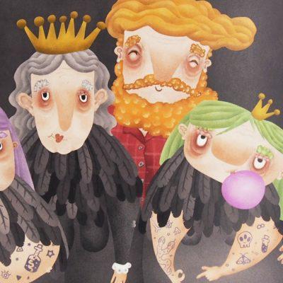 Rodinka - Hedviga Gutierrez / A3 grafika