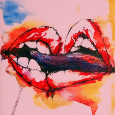 Bite my colours I. - Pangea Boards / grafika v ráme