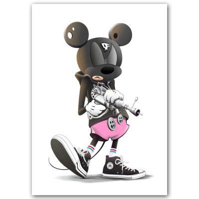 Mickey in the house / grafika