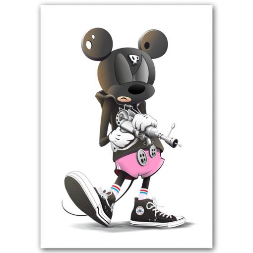 Mickey in the house / grafika