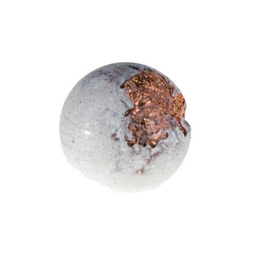 Shine biele medené - BetonBasic / náušnice