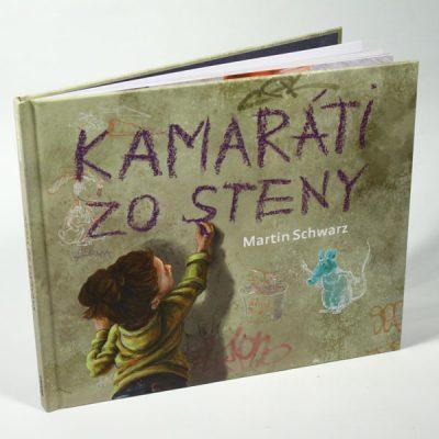 Kamaráti zo steny - M. Schwarz / kniha