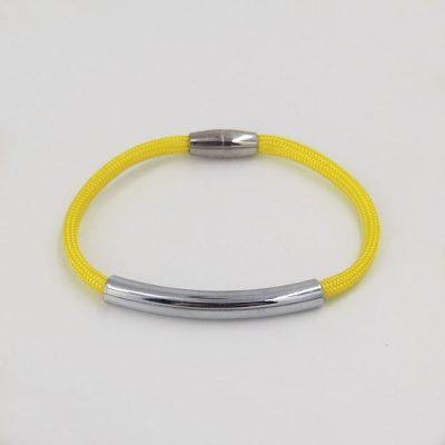 Rope žltý / set náhrdelník a náramok