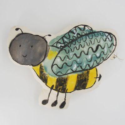 Včela Ela / vankúšik