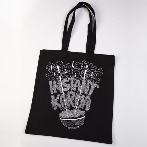 Instant Karma čierna / taška