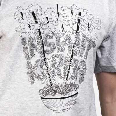 Instant Karma sivé / tričko