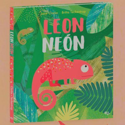 Leon Neón - J. Clarke / kniha