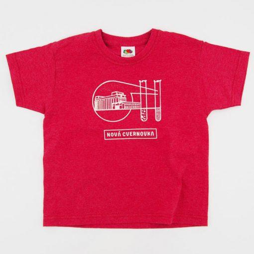 Logo Račianska Cvernovka červené / detské tričko