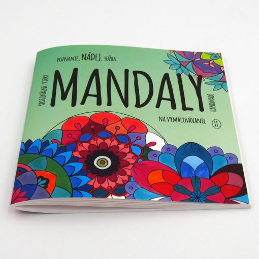 Mandaly na vymaľovávanie II. / omalovánka