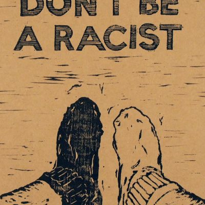 Don´t be racist #1 - Pangea Boards / grafika
