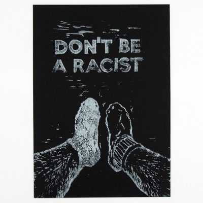 Don´t be racist #2 - Pangea Boards / grafika