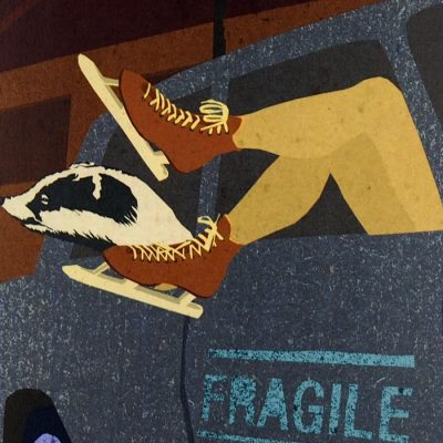 Fragile - Pangea Boards / grafika