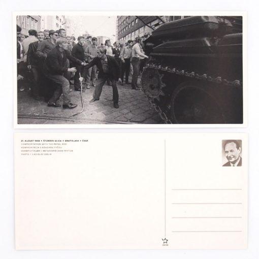 August 1968 - Foto Laco Bielik #3 / pohľadnica