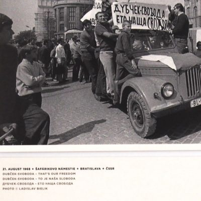 August 1968 - Foto Laco Bielik #2 / pohľadnica