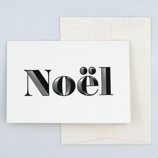 Noël - Pressink Letterpress / pohľadnica