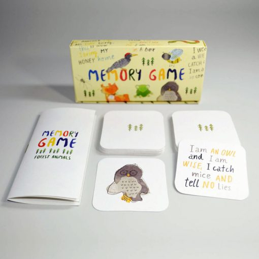 Forest Animals / Memory game