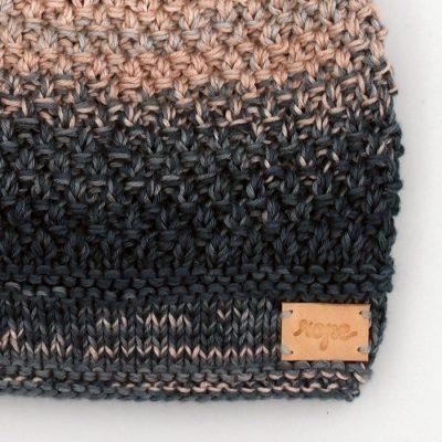 Pletená detská čiapka #5 / čiapočka
