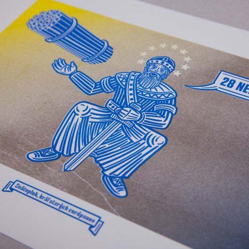 svatopluk kral starych europanov matatko risografika