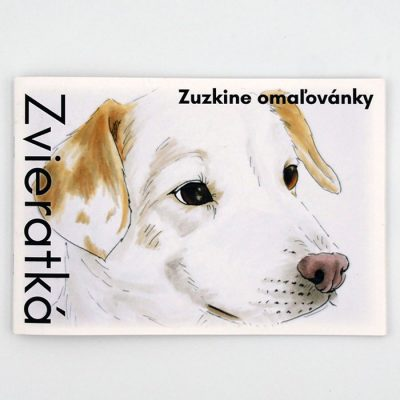 Zvieratká - Zuzkine omaľovánky / omaľovánka