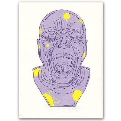 Messerschmidtova busta #1 - Hedviga Gutierrez / grafika