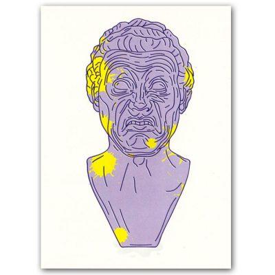 Messerschmidtova busta #2 - Hedviga Gutierrez / grafika