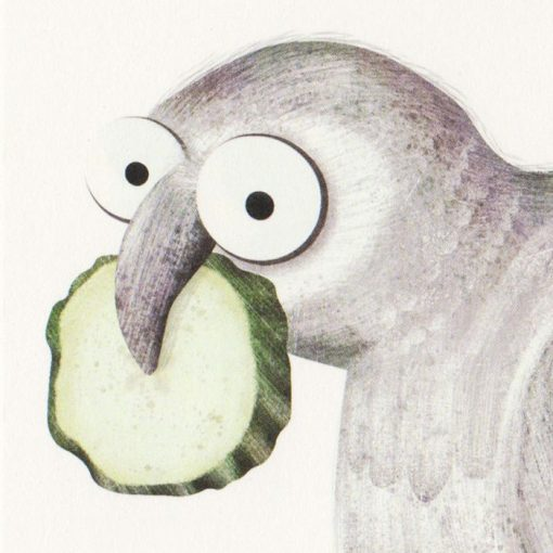 Ilustrácia z knihy Holub Lubo #6 - Hedviga Gutierrez / grafika
