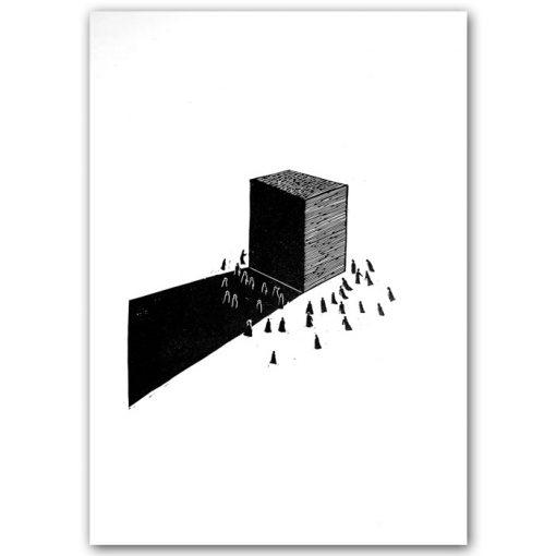 Ľudstvo a tak II. #9 - Lenka Štefánková / grafika