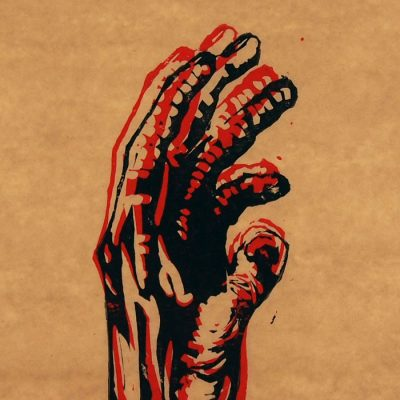 Hand #8 - Martin Malina / linorytová grafika
