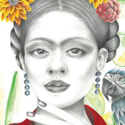 Frida - K. Branišová - Abstraktné stavy / grafika