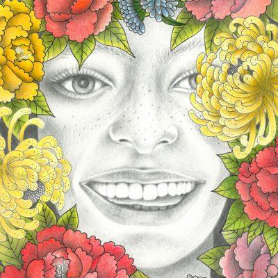 Happiness - K. Branišová - Abstraktné stavy / grafika