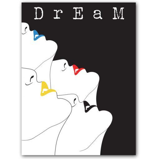 Dream - K. Branišová - Abstraktné stavy / grafika