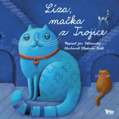 Líza, mačka zTrojice - J. Uličiansky / kniha