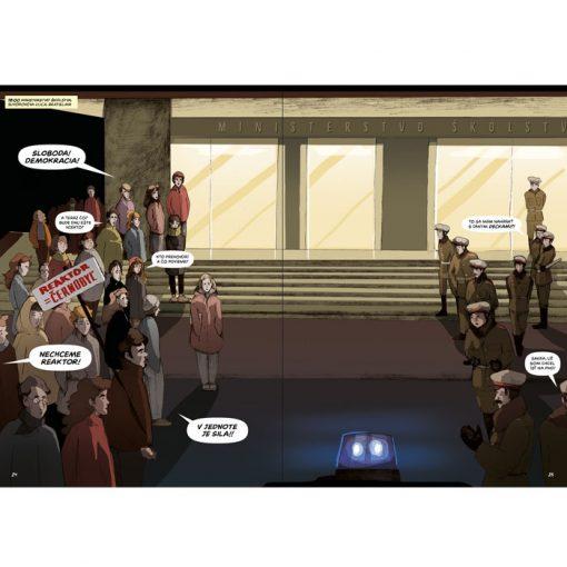Čierna oslava - Nežný komiks / komix kniha