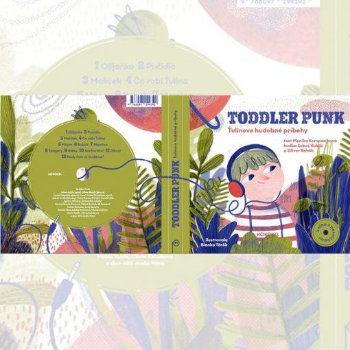 Toddler Punk - Ťulinove hudobné príbehy / CD pre deti
