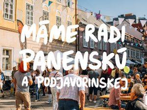 Prídi nasať atmosféru pouličného Dobrého trhu na Panenskej a Podjavorinskej