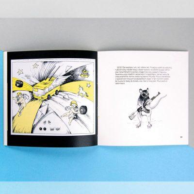 Svätá trojica - K. Koronthályová / komix kniha