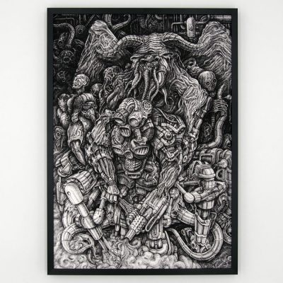 Evil - Radoslav Kolek / grafika